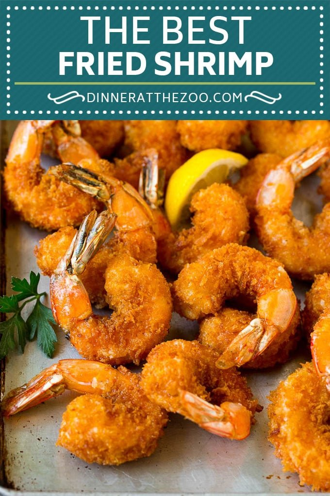 Fried Shrimp Recipe #shrimp #seafood #dinner #appetizer #dinneratthezoo