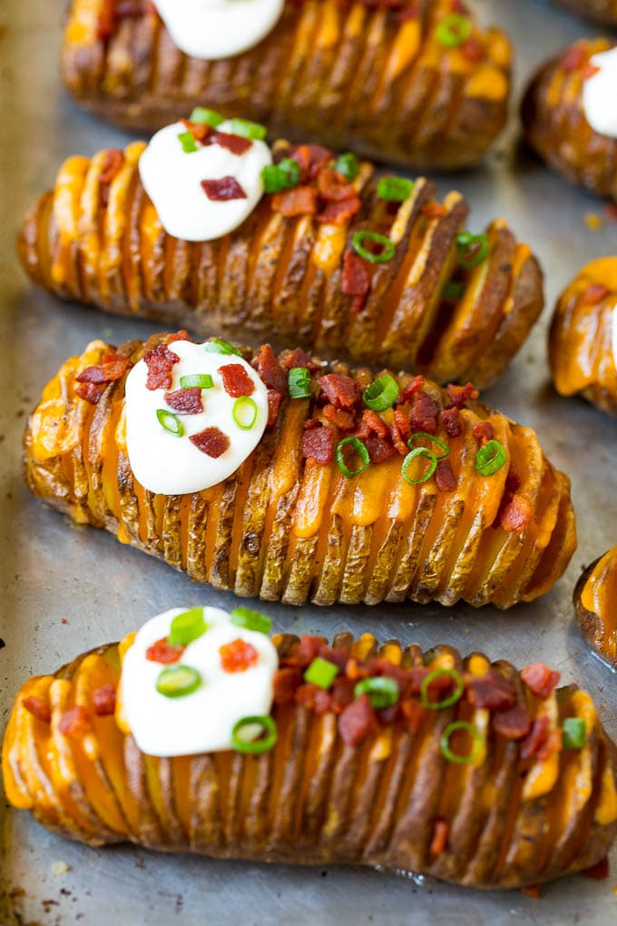 Hasselback Potatoes Recipe Dinner At The Zoo