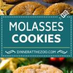 Molasses Cookies Recipe | Spice Cookies #cookies #baking #christmas #dessert #dinneratthezoo