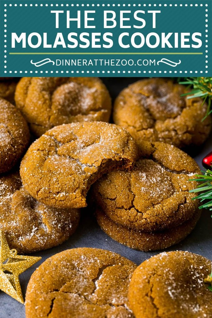 Molasses Cookies Recipe | Spice Cookies #cookies #baking #christmas #dessert #dinneratthezoo