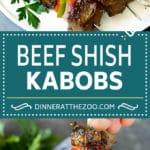 Beef Shish Kabobs Recipe | Beef Kabobs #grilling #beef #steak #dinner #dinneratthezoo #peppers