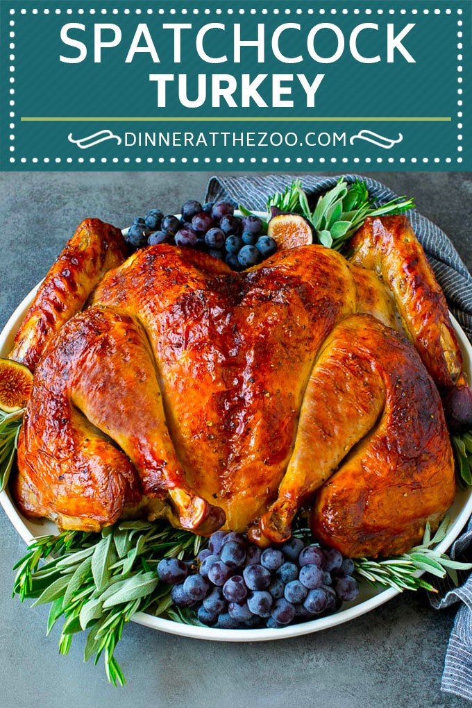 Spatchcock Turkey | Roasted Turkey | Thanksgiving Turkey #turkey #thanksgiving #dinner #fall #christmas #dinneratthezoo