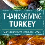 Thanksgiving Turkey Recipe   Roasted Turkey #turkey #thanksgiving #fall #dinner #dinneratthezoo