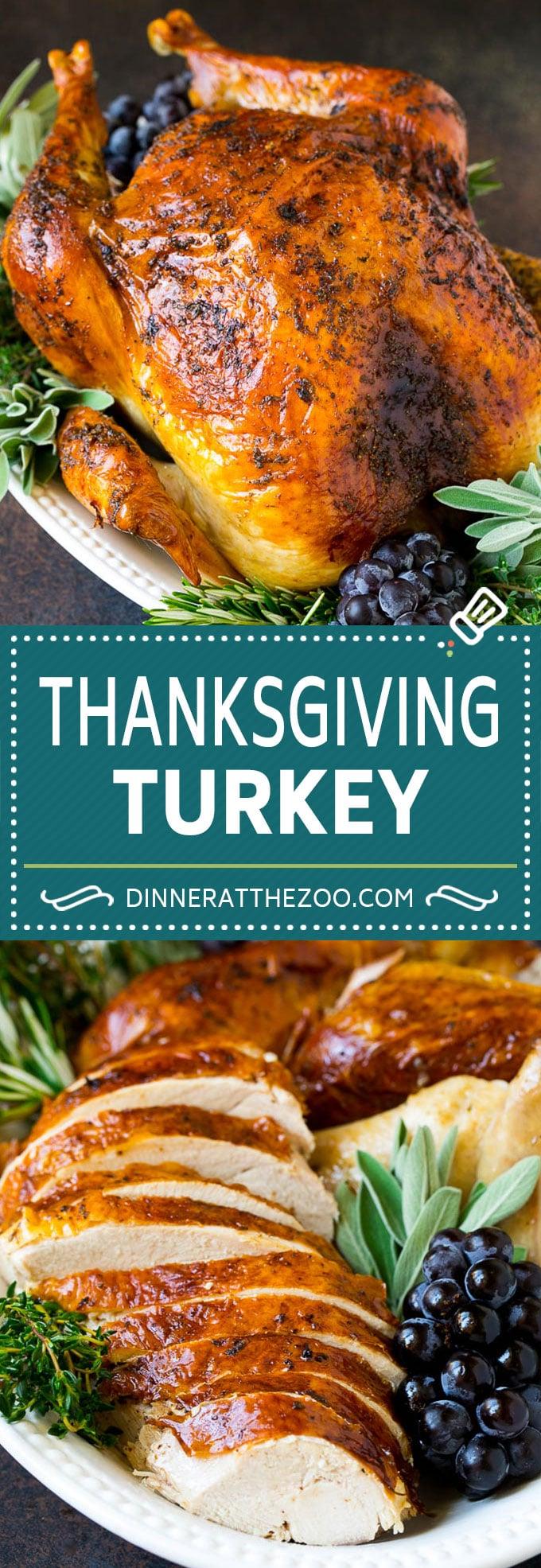 Thanksgiving Turkey Recipe | Roasted Turkey #turkey #thanksgiving #fall #dinner #dinneratthezoo