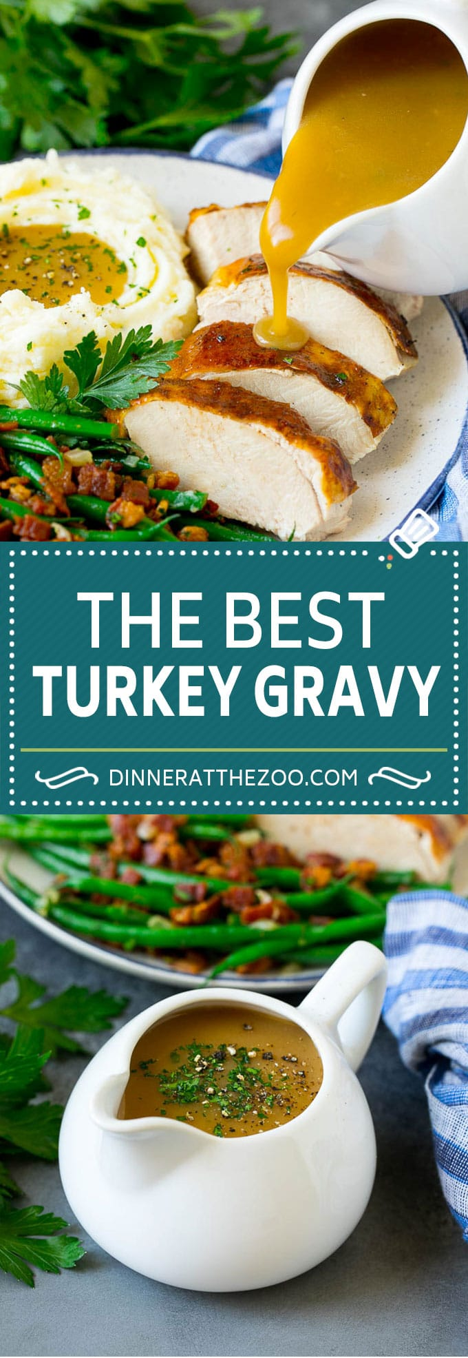 This is the best turkey gravy you'll ever have - it's smooth, creamy and full of savory flavors. Homemade gravy is a must have for any holiday meal, and my version is so simple to make.