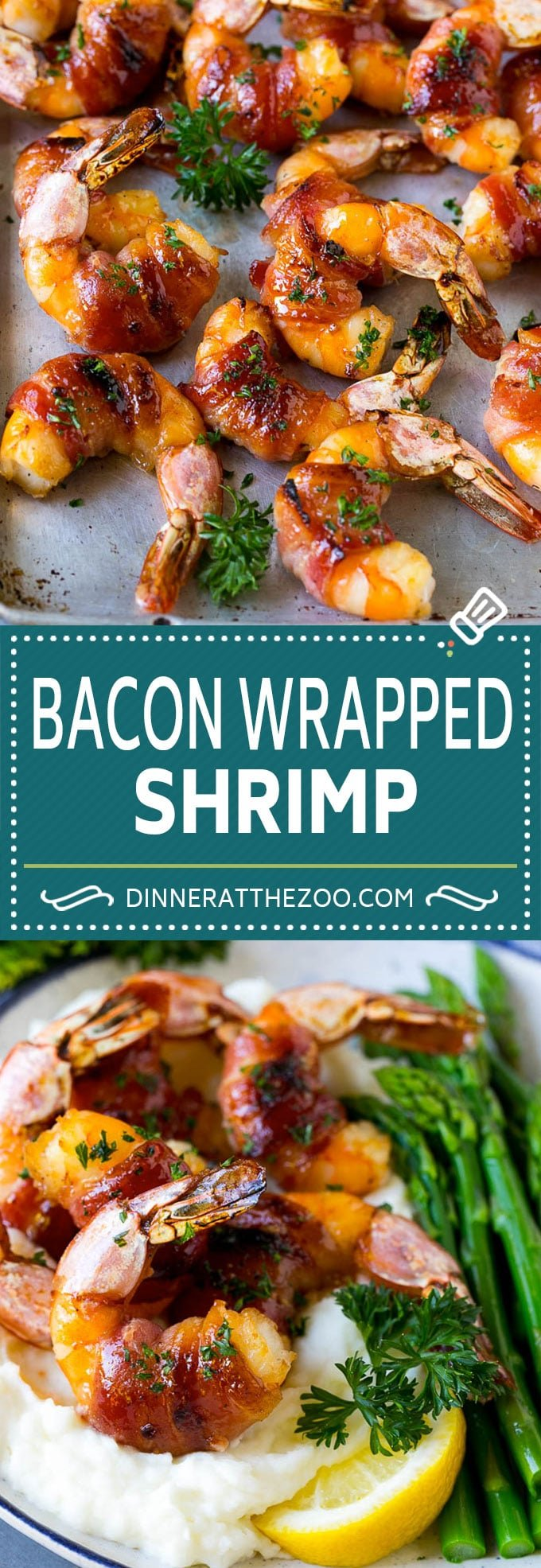 Bacon Wrapped Shrimp Recipe | Bacon Shrimp #shrimp #bacon #appetizer #dinner #dinneratthezoo #seafood