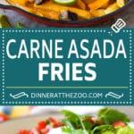 Carne Asada Fries Recipe   Steak Fries #fries #frenchfries #steak #salsa #avocado #cheese #dinner #appetizer #dinneratthezoo