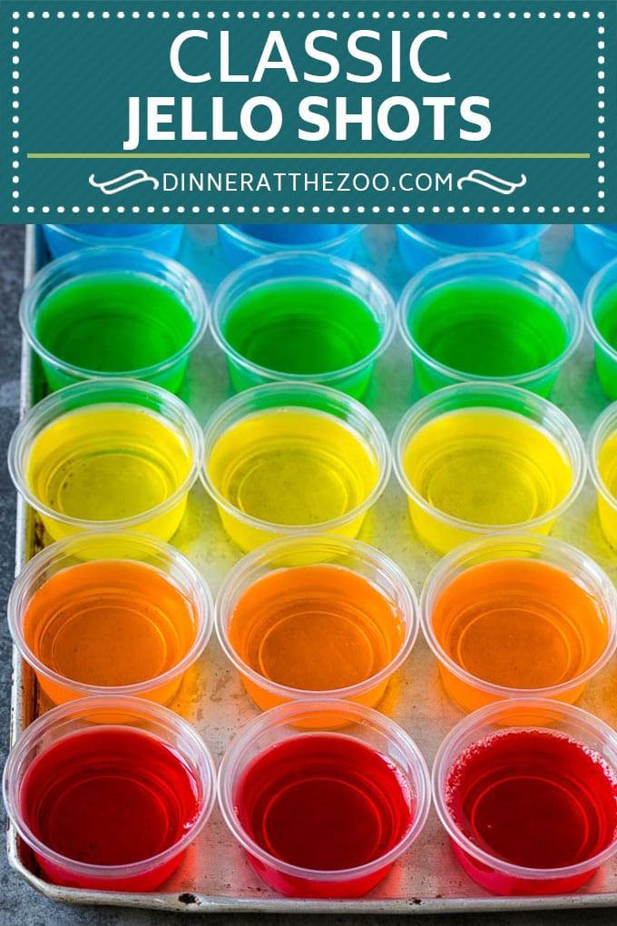Jello Shots Recipe #shots #jello #vodka #dinneratthezoo