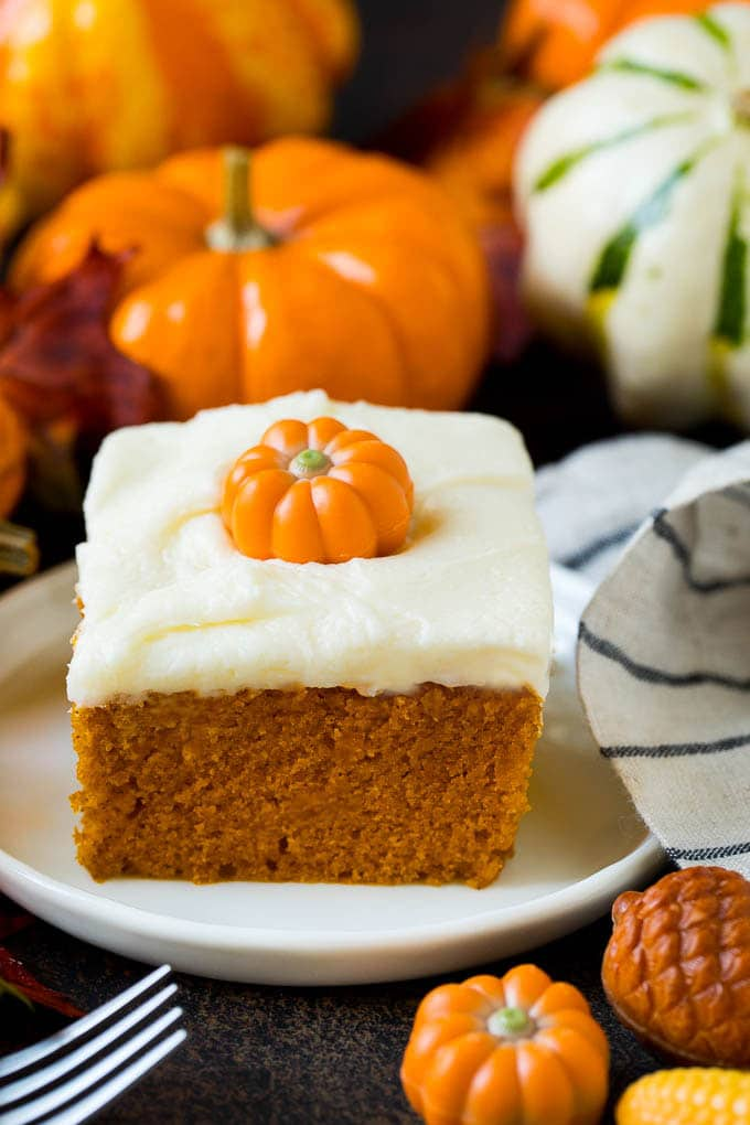 Pumpkin Cake With Cream Cheese Frosting Dinner At The Zoo