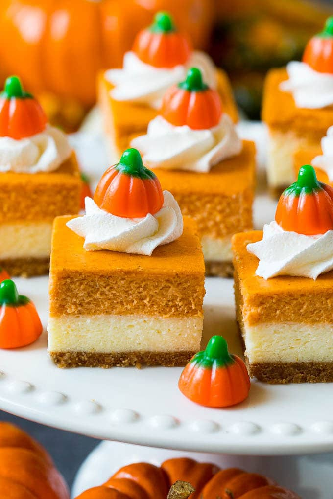 Pumpkin Cheesecake Bars Dinner At The Zoo