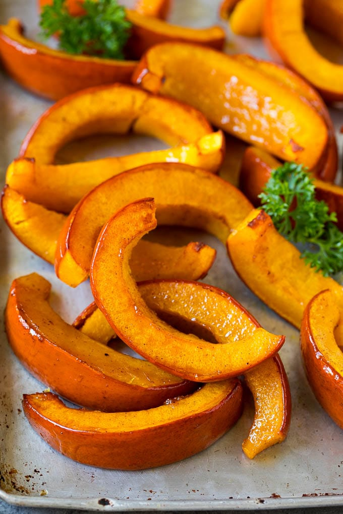 Roasted Pumpkin Recipe - Dinner at the Zoo