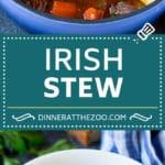 Irish Stew Recipe | Beef Stew #stew #soup #beef #carrots #potatoes #beer #stpatricksday #dinner #dinneratthezoo