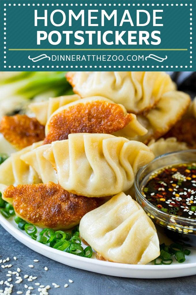 Potstickers Recipe | Dumpling Recipe #potstickers #dumpling #appetizer #pork #dinner #dinneratthezoo