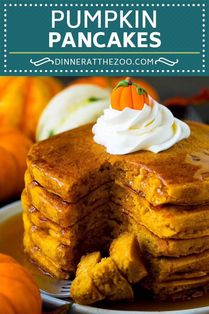 These pumpkin pancakes are light and fluffy buttermilk hotcakes flavored with pumpkin puree and spices.