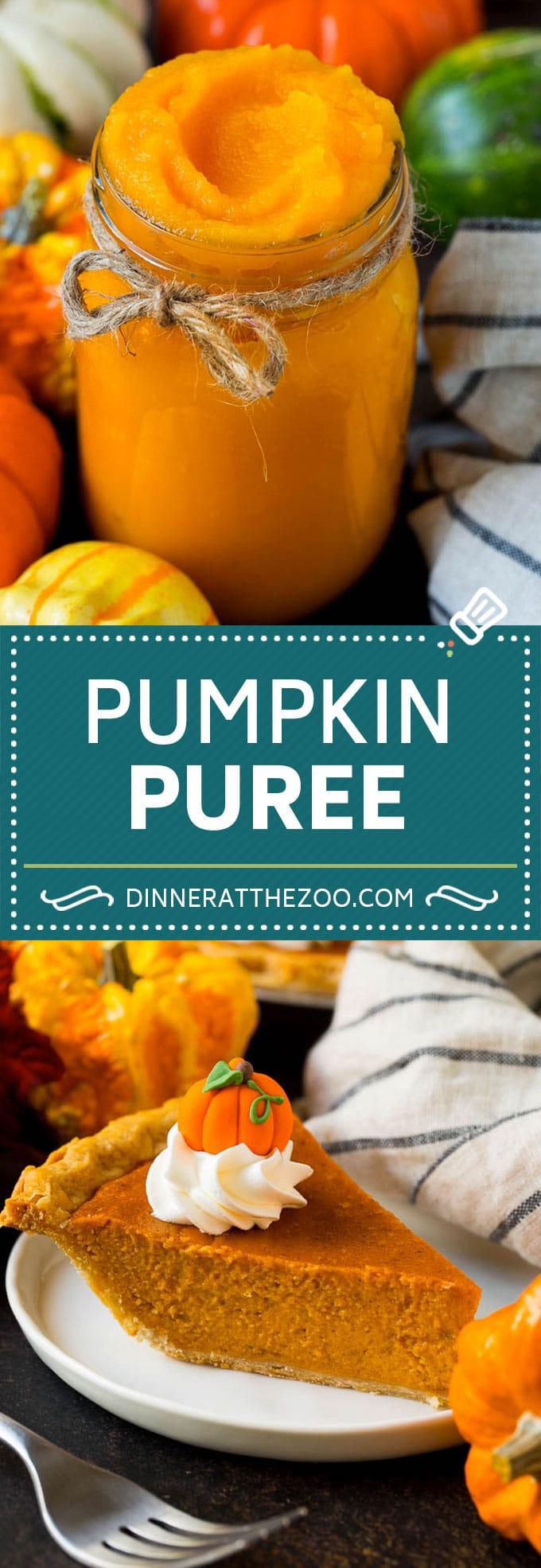 Pumpkin Puree Recipe #pumpkin #baking #fall #thanksgiving #dinneratthezoo