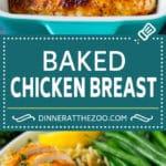 Baked Chicken Breast Recipe #chicken #dinner #dinneratthezoo