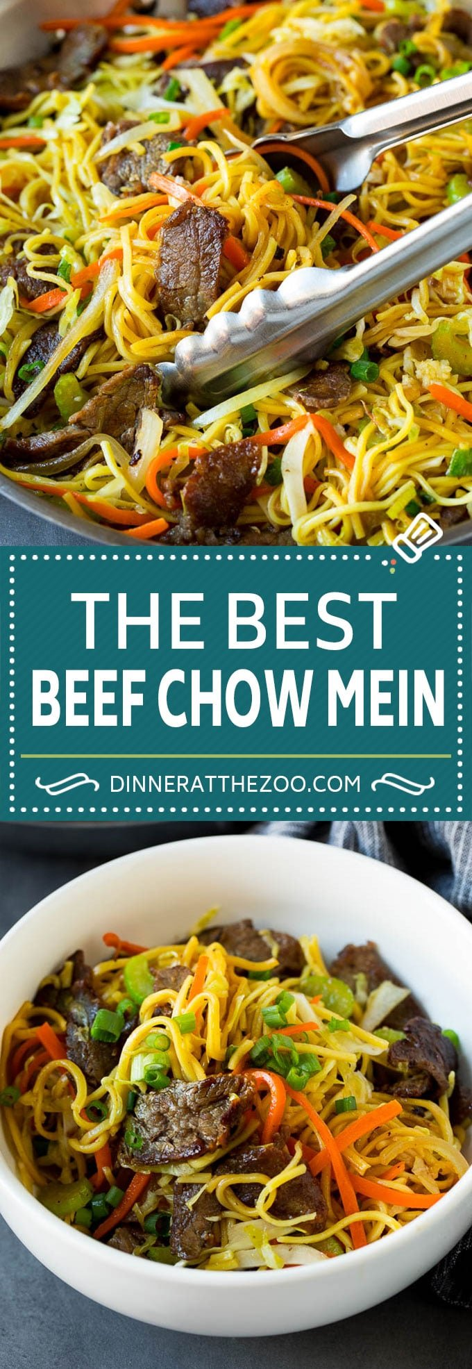 Beef Chow Mein #beef #noodles #dinner #dinneratthezoo