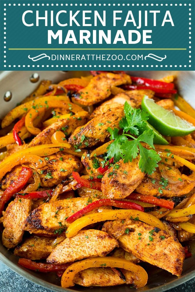 Chicken Fajita Marinade Recipe | Chicken Fajitas #chicken #fajitas #marinade #dinner #dinneratthezoo