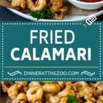 Fried Calamari Recipe #seafood #appetizer #dinner #dinneratthezoo