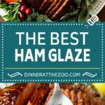 Ham Glaze Recipe #ham #glaze #christmas #easter #thanksgiving #dinner #dinneratthezoo