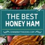Honey Glazed Ham Recipe #ham #christmas #thanksgiving #easter #dinner #dinneratthezoo