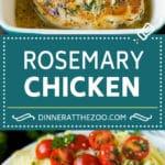 Rosemary Chicken Recipe | Baked Chicken #chicken #lemon #garlic #lowcarb #dinner #dinneratthezoo #rosemary