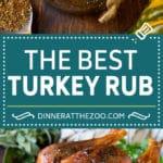 Turkey Rub Recipe #turkey #spices #thanksgiving #dinner #fall #dinneratthezoo