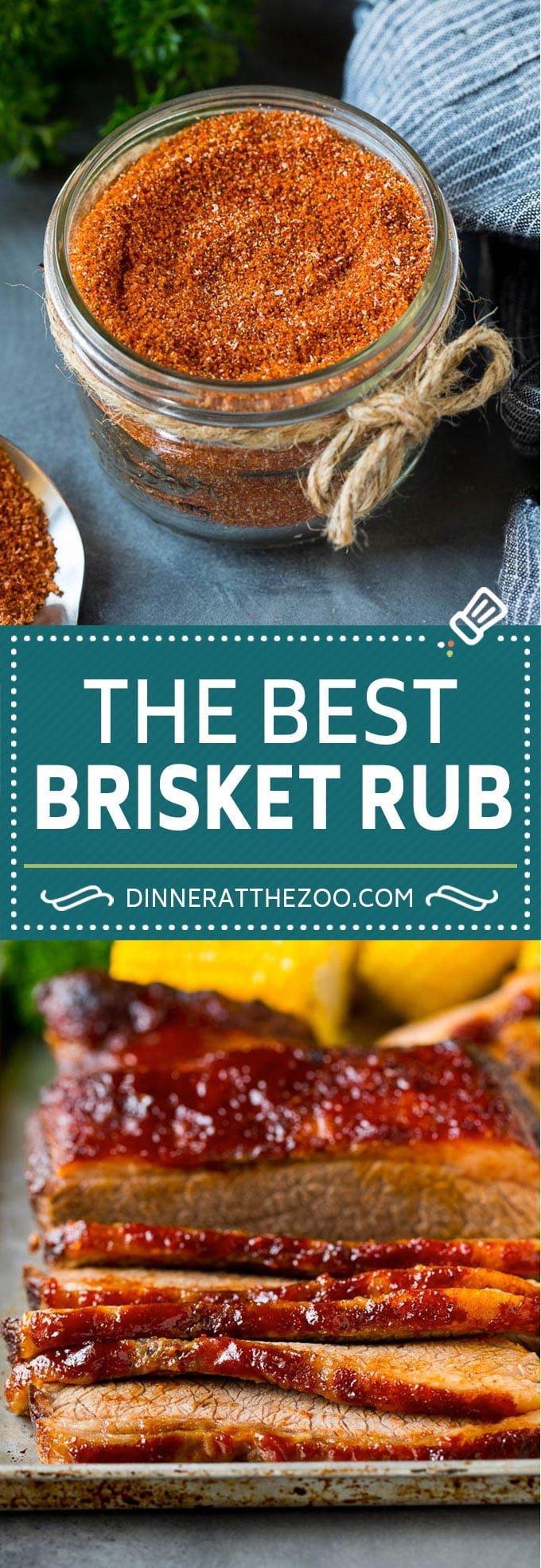 Brisket Rub Recipe #spices #beef #bbq #dinner #dinneratthezoo