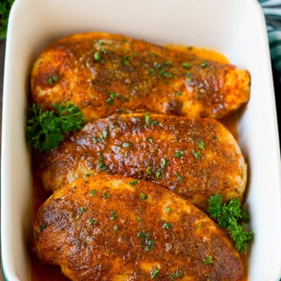 Baked Cajun Chicken
