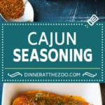 Cajun Seasoning #cajun #dinneratthezoo