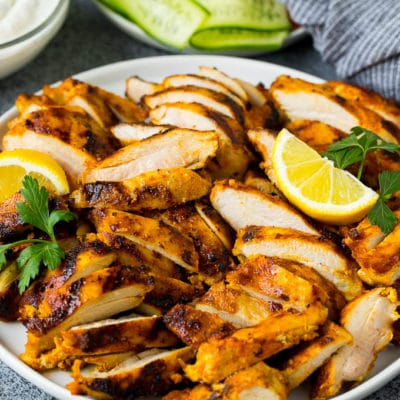 Chicken Shawarma (Grilled or Baked)