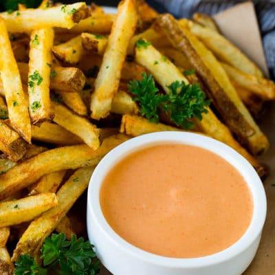 Easy Fry Sauce Recipe