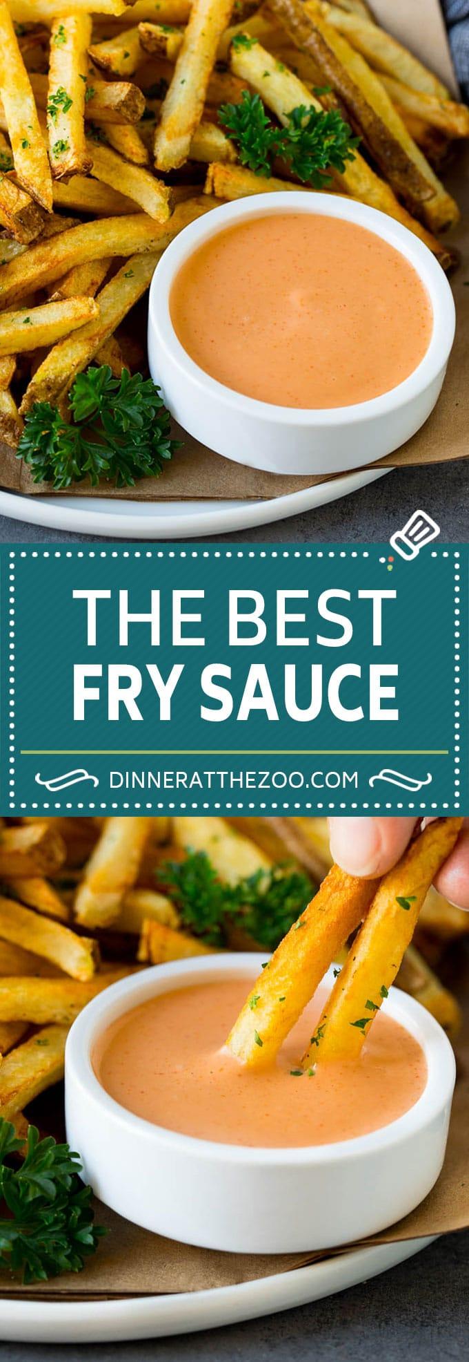 Fry Sauce Recipe #sauce #dinneratthezoo