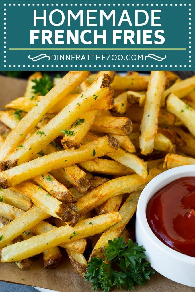 Homemade French Fries Recipe #potatoes #fries #dinner #dinneratthezoo