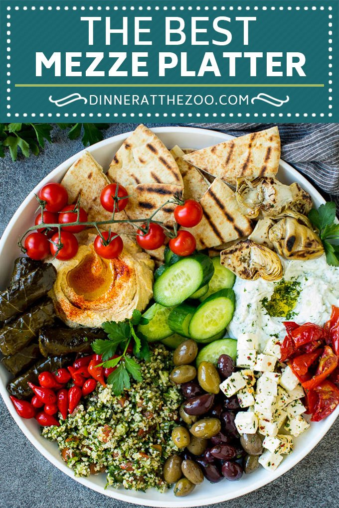 Mediterranean Mezze Platter Dinner At The Zoo