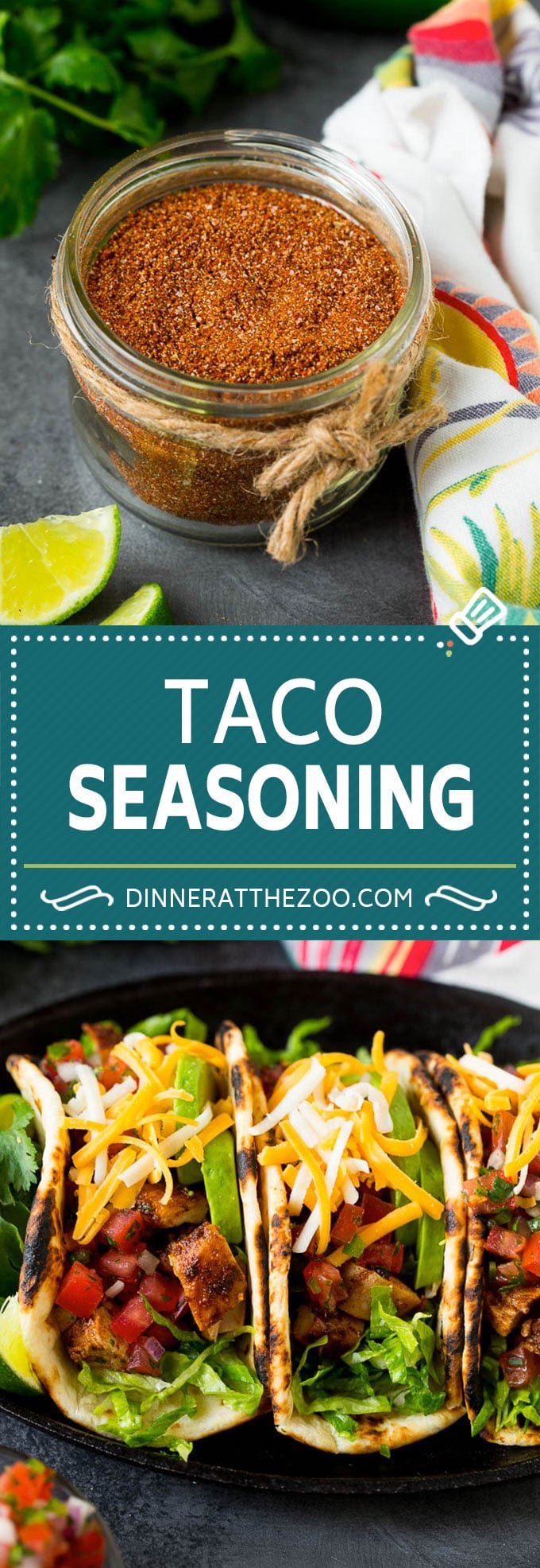 Taco Seasoning Recipe Dinner At The Zoo