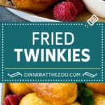 Fried Twinkies are a remake of the carnival classic that are fun and easy to make at home.