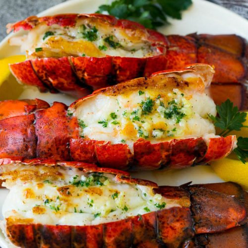 Grilled Lobster Tail Dinner At The Zoo