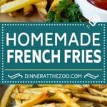 Homemade French Fries Recipe #potatoes #fries #dinner #dinneratthezoo