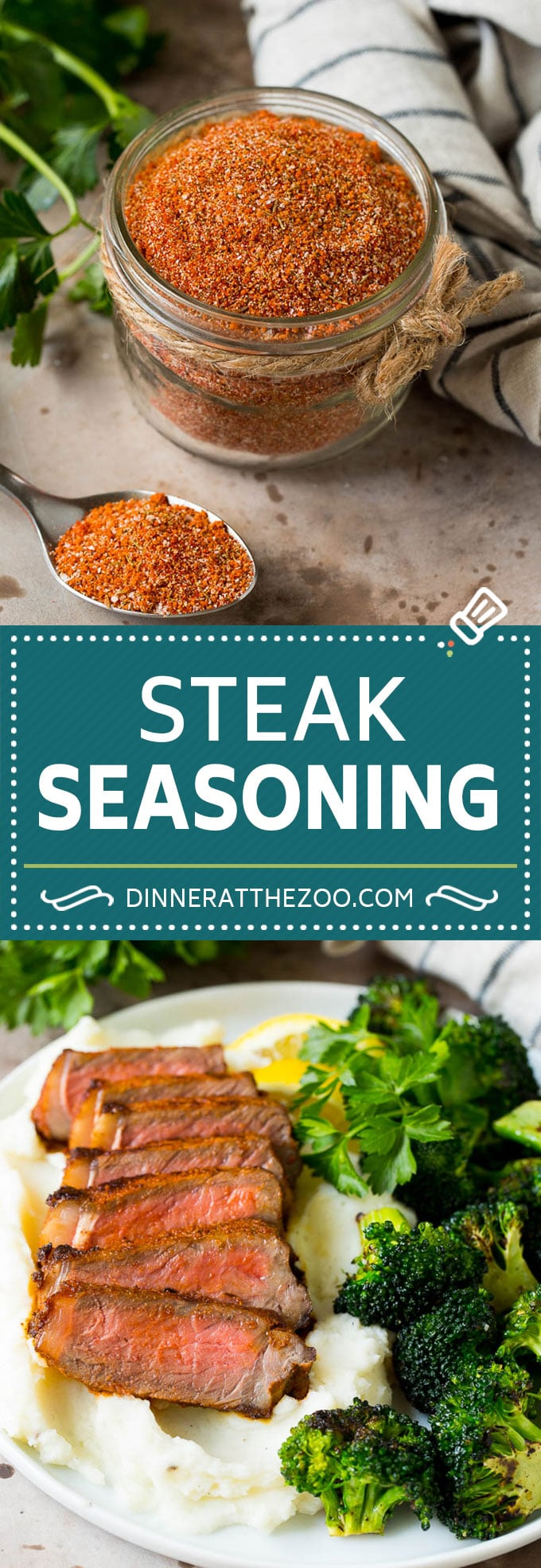 This steak seasoning takes just minutes to make and adds so much flavor to beef, chicken and pork.