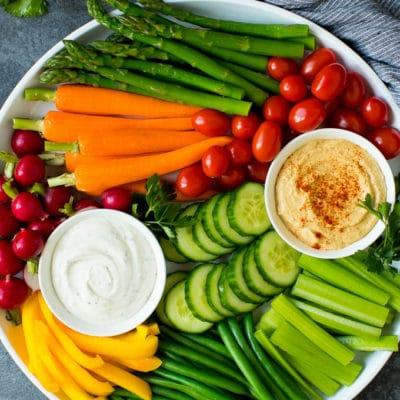 The Best Veggie Tray