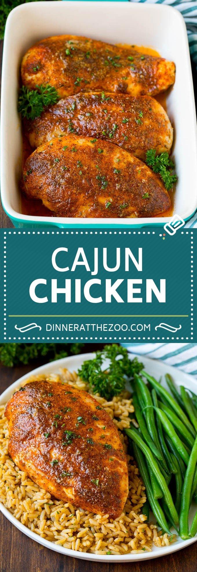Cajun Chicken Recipe #cajun #chicken #dinneratthezoo