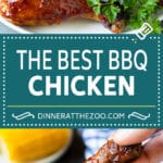 Super easy BBQ chicken that can be grilled or baked with perfect results every time!