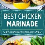 The best chicken marinade produces tender and juicy results every time!