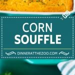 This corn souffle recipe is a flavorful blend of corn kernels, butter, eggs and creamed corn, all baked to light and fluffy perfection.