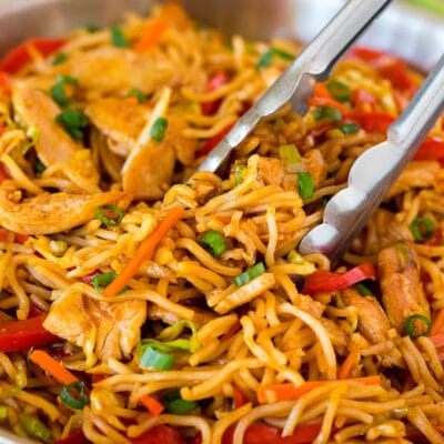 Yakisoba Noodles with Chicken