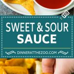 This sweet and sour sauce is a homemade version of the classic Asian sauce that takes just minutes to make and uses common pantry ingredients.