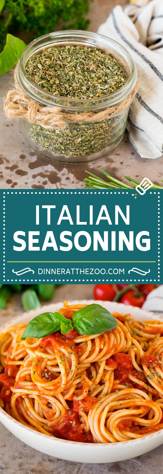 This homemade Italian seasoning is a blend of a variety of herbs and spices that creates a flavorful mix.