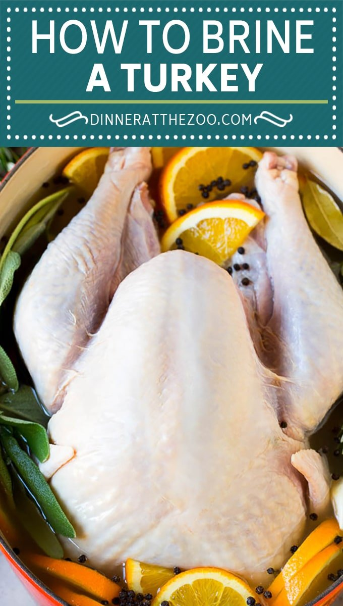 This is a complete guide on how to brine a turkey to get the most tender and flavorful bird each and every time.