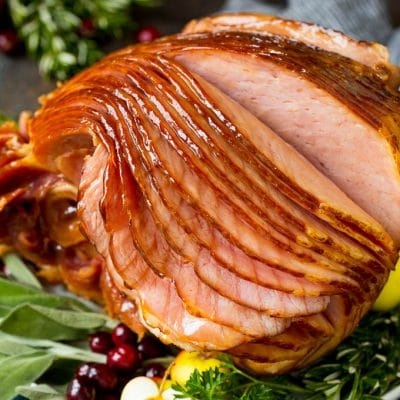 Instant Pot Ham with Brown Sugar Glaze